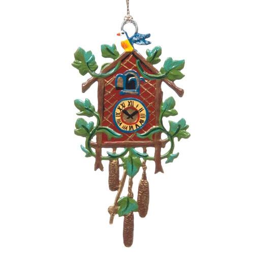 Pewter Cuckoo Clock