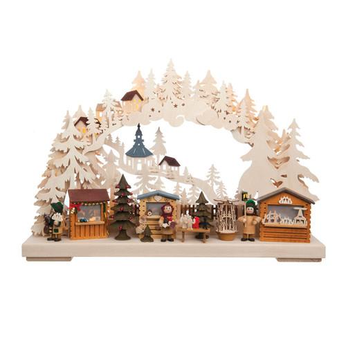 Christmas Market Schwibbogen