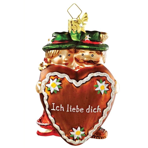 Heart - Bavarian Couple