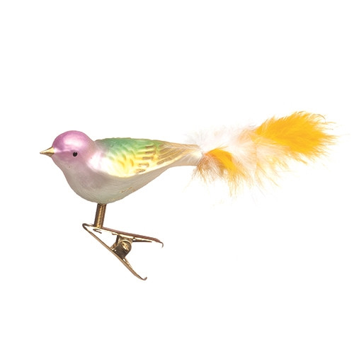 Pastel and Gold Bird