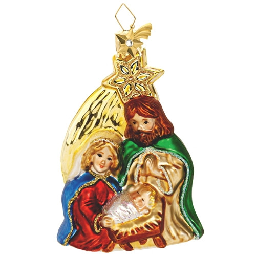 Holy Family Showered in Star Light