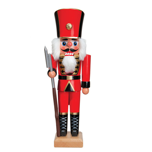 Hussar all in Red with Rifle
