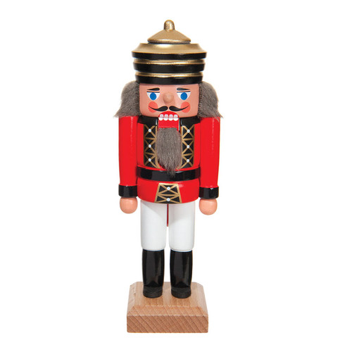 "King Red Striped Crown 5 1/2"" Nutcracker"
