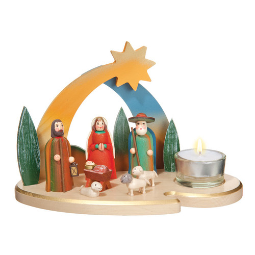 Birth of Christ Star Over Bethlehem