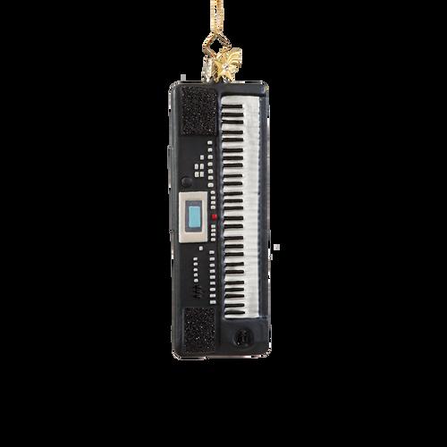 Keyboards Glass Ornament