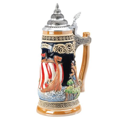 Viking Ship Beer Stein