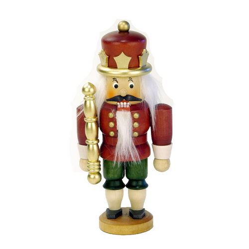 Nutcracker King in Red and Gold