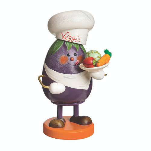 Eggplant Chef Incense Smoker