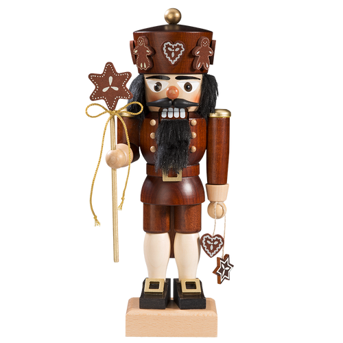 King of Gingerbread with Star Staff