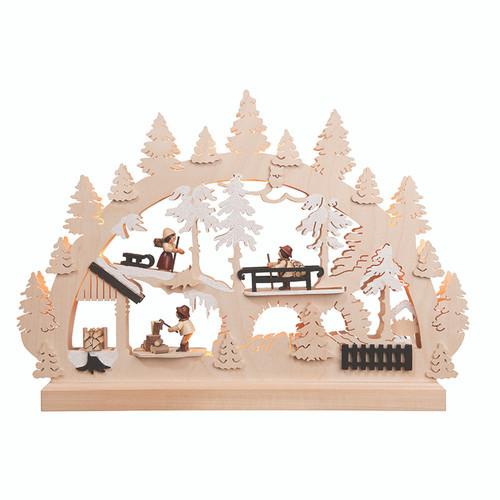 Winter Forest Fun