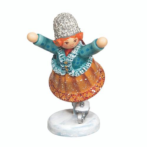 Little Ice Skater Girl