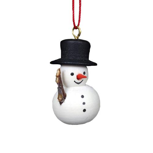 Jolly Wooden Snowman