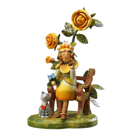 Yellow Dog Rose Flower Child