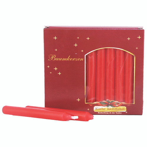 Red Tree Candles