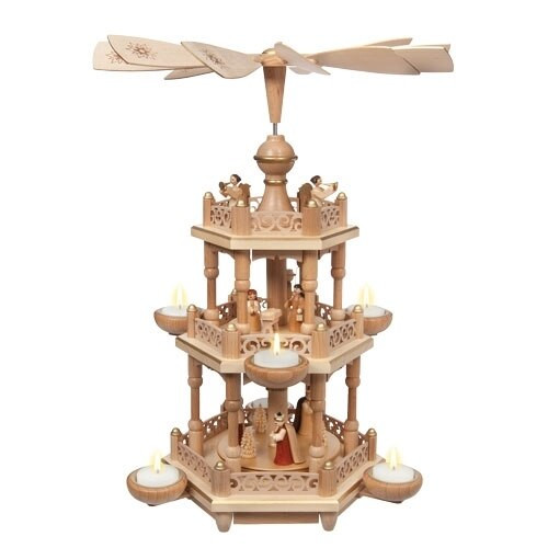 Holy Nativity 2-Tier with Tealights
