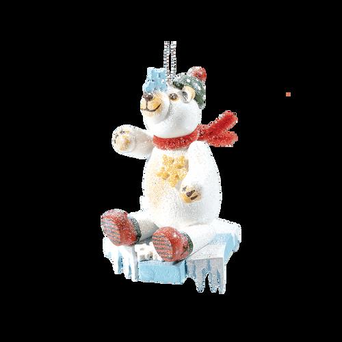 Frosty Polar Bear