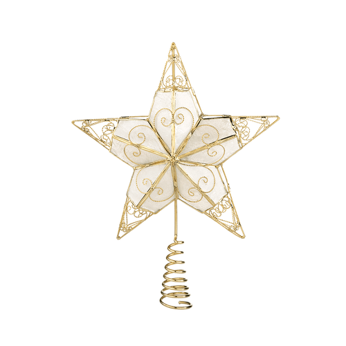 Gold Tree Top Star