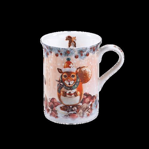 Winter Squirrel Mug