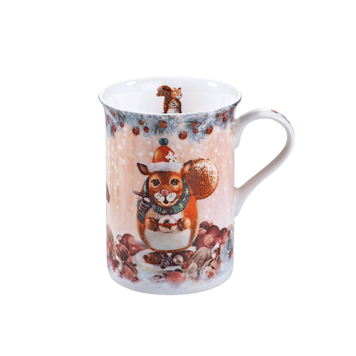 Winter Squirrel Mug