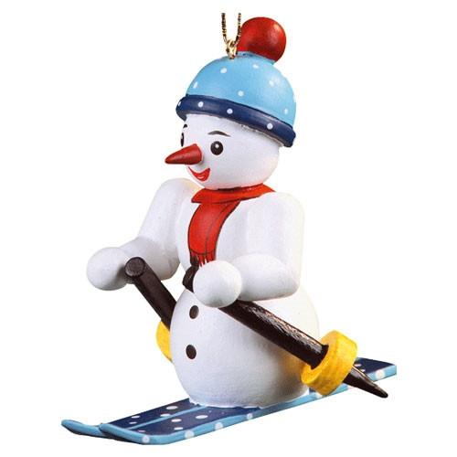 Snowman on Skies