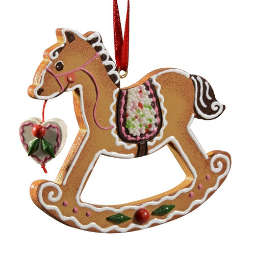Gingerbread Rocking Horse
