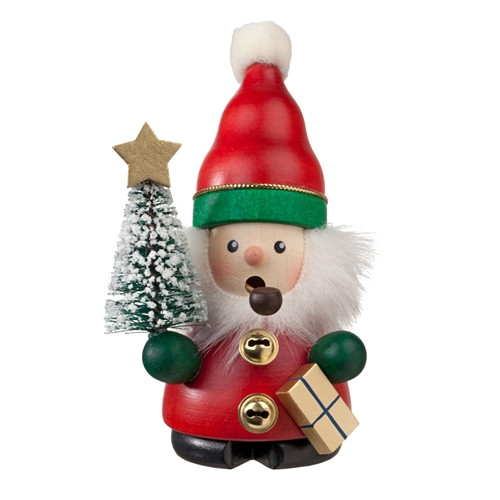 Little Santa with Tree & Gift