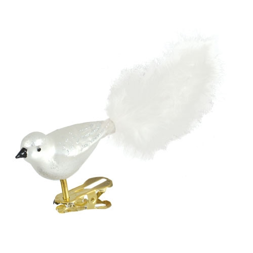White and Silver Bird