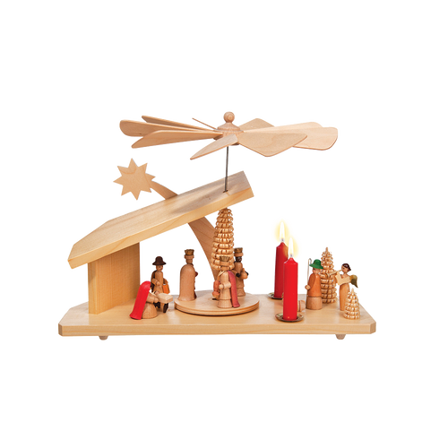 Manger House Nativity
