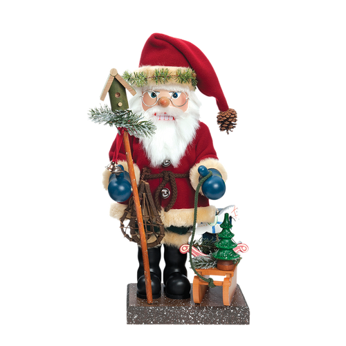 Forest Santa with Sled