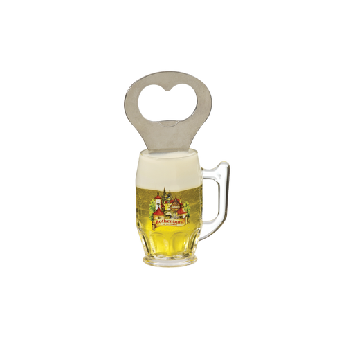 Beer Stein Bottle Opener Magnet