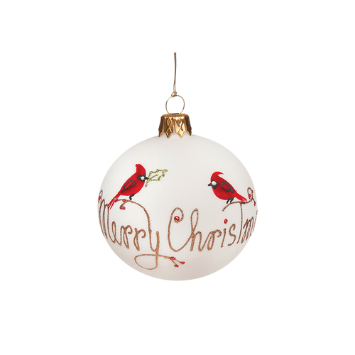 Merry Christmas with Cardinals