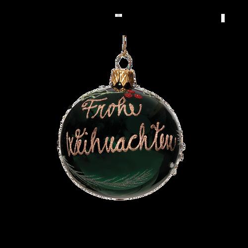 Dark Green Frohe Weihnachten