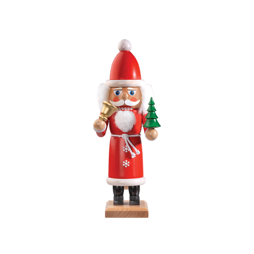 Santa with Bell Red