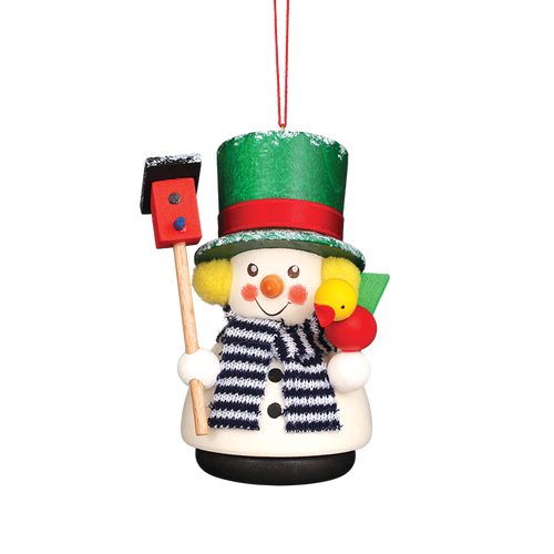 Snowman with Green Hat