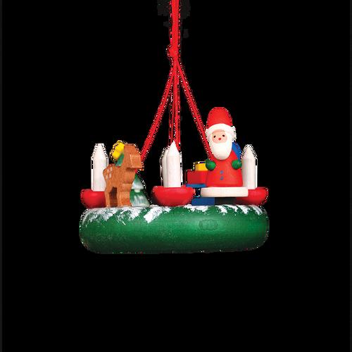 Santa Advent Wreath