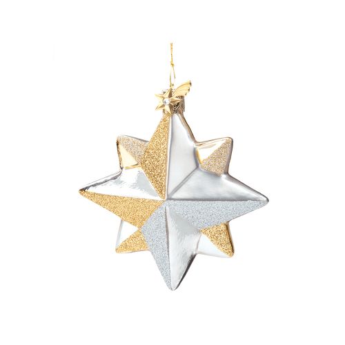 Silver & Gold Star