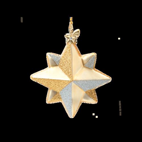 Champaign & Gold Star