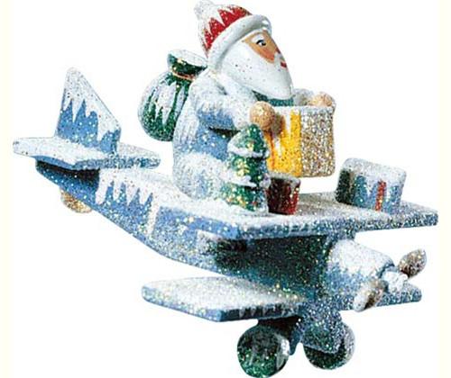 Santa on Plane