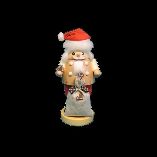 Santa with Gingerbread Sack Natural