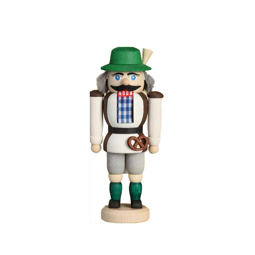 Green Hat Bavarian with Pretzel