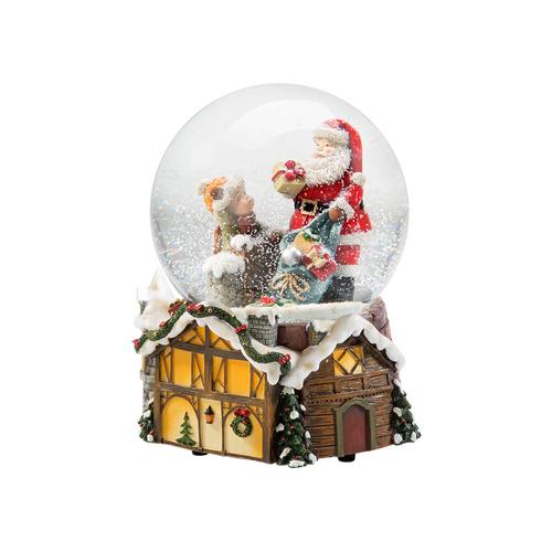 Santa Delivering Gifts
