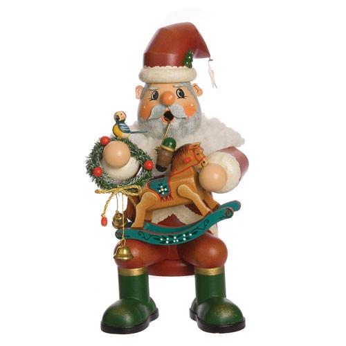 Sitting Jolly Santa