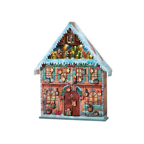 """Advent Calendar House """"Christmas Joy"""""""