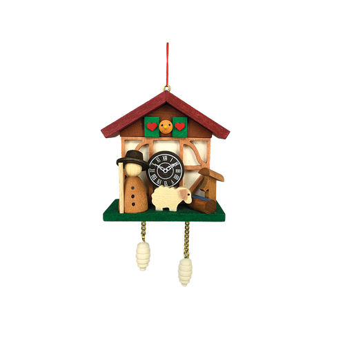 Cuckoo Clock with Shepherd