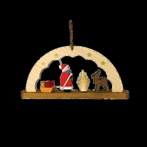 Schwibbogen with Santa