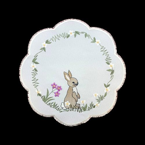 "Spring Bunny 9"" Round"