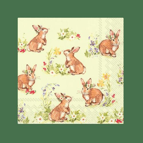 Sweet Lovely Bunny Napkins