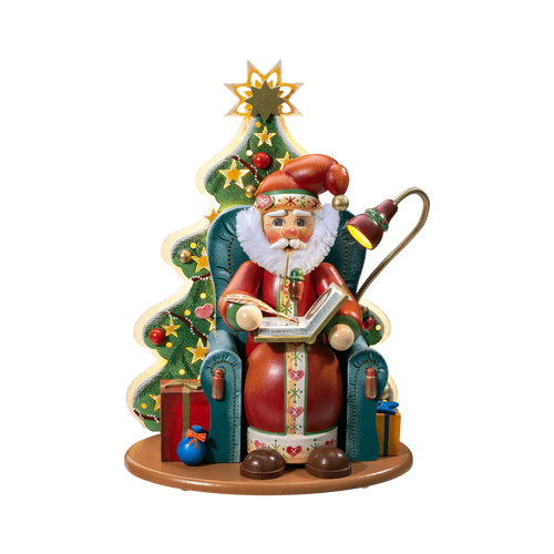 Santa in Armchair