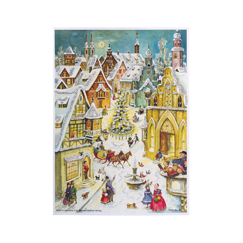 Winter Scene Advent Calendar