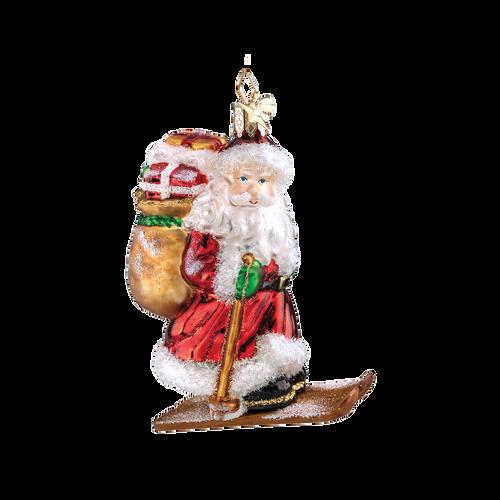 Santa Claus Skiing